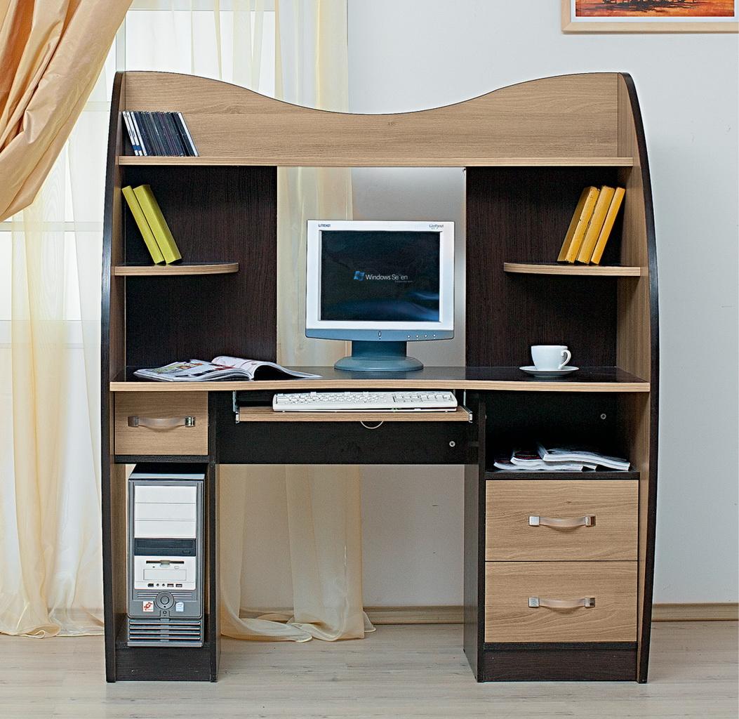 Стол для компьютера ск 4н2 цена 9930 рублей кибер-мебель, са.